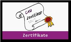 Zertifikate, Bild von einem Zertifikat